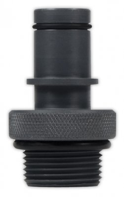 "Fly High Pro X 3/4"" Quick Connector w/Suction Stop"